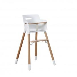 Chaise haute avec barre de sécurité -  Baby