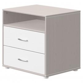 Commode 2 tiroirs et un compartiment - Classic