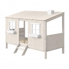 Evolutief laag bed met compleet huis - Classic