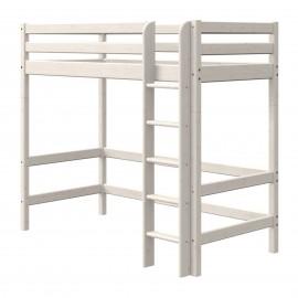 Evolutief mezzaninebed met rechte ladder - Classic