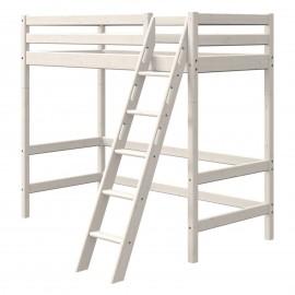 Evolutief mezzaninebed met schuine ladder - Classic