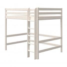 Evolutief mezzaninebedmet bed van 140 cm en rechte ladder - Classic