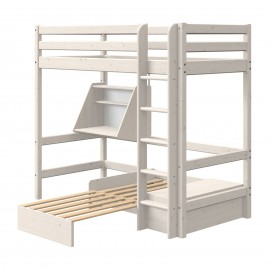 Casa evolutief mezzaninebed met rechte ladder - Classic