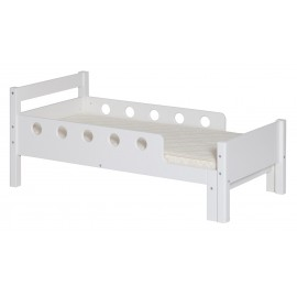 Junior bed - White